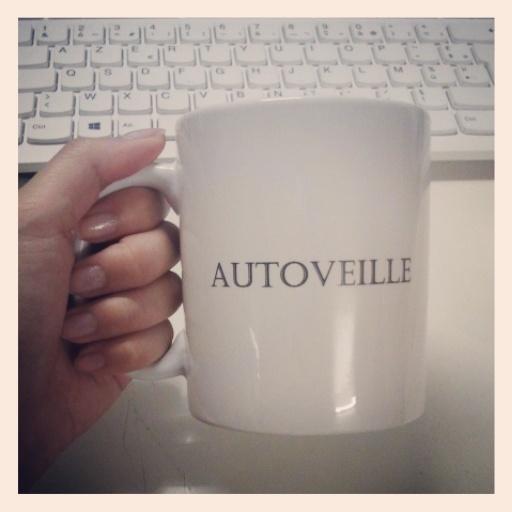 Mug personnalisé AUTOVEILLE
